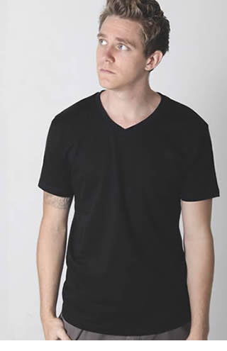 9982 Gemini V Neck Tee Men's